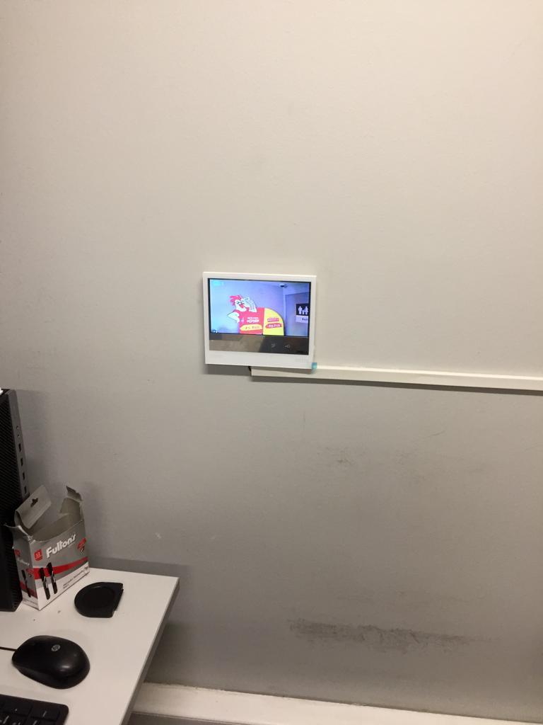 Instalación cámara vídeo